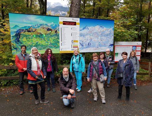 Weitsicht im Berner Oberland